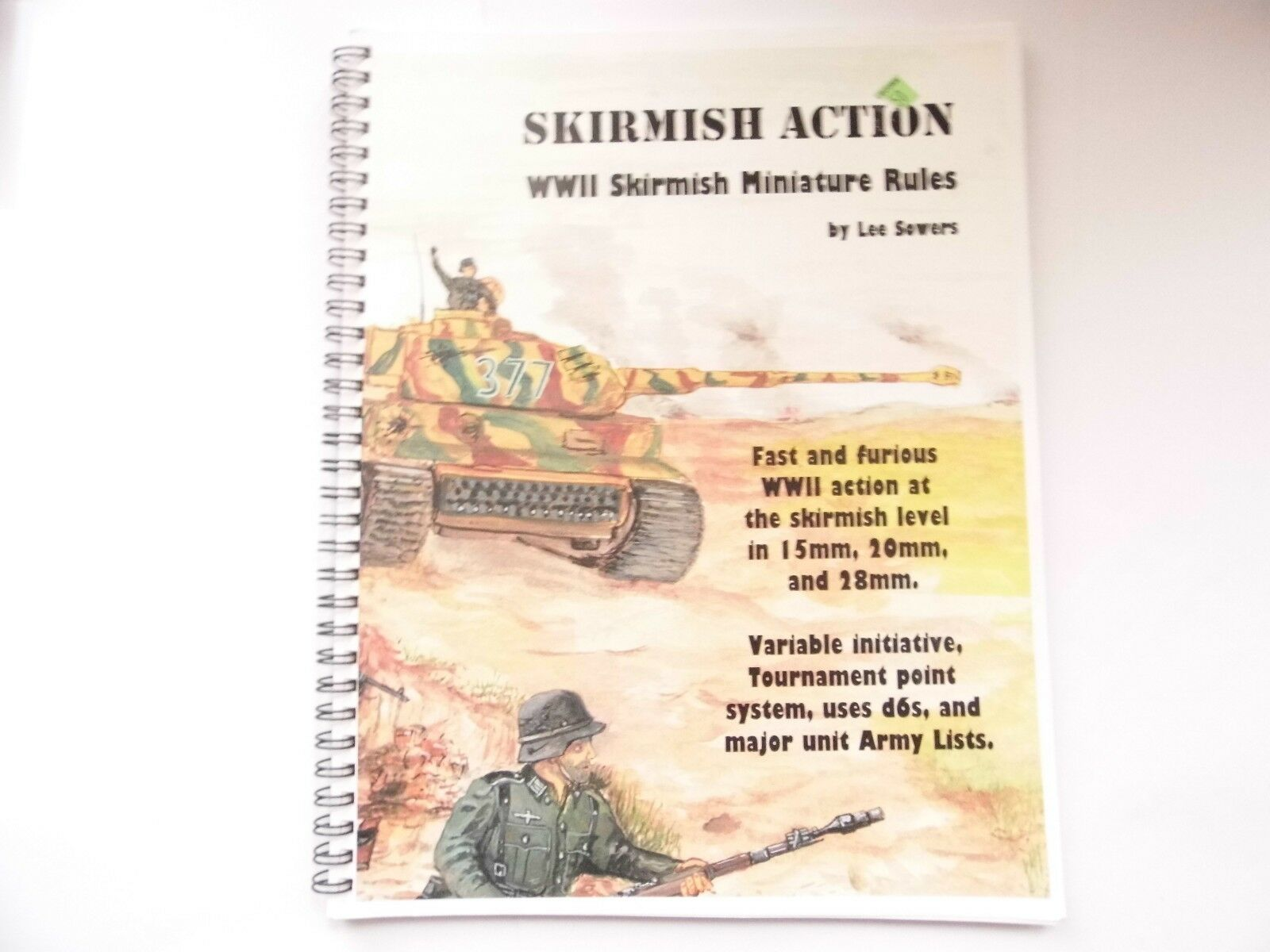 SKIRMISH ACTION - WAR GAMES RULES - NEW