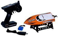 Udirc Venom 2.4GHz High Speed Remote Control Electric Boat (Orange) UDI RC