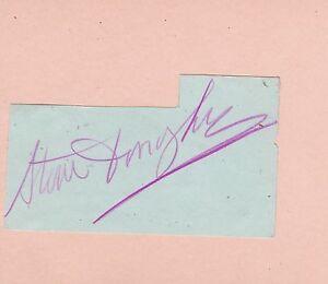 Steve-Donoghue-Leading-Jockey-1910s-20s-signe-autographe-album-PAGE-L-039-association-AFTAL-UACC