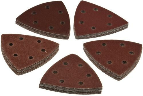 50x schleifdreiecke Papier abrasif Triangle Meuleuse Meules k40 à k180