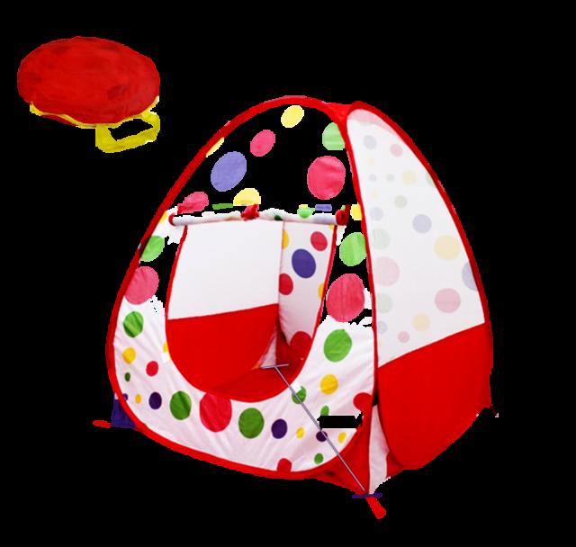 Kinderzel Spielzelt für Bällebad Wurfzelt Spielhaus Babyzelt