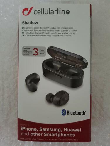 Bluetooth earphones with flexible earhook Shadow Stereo -neu# Cellularline