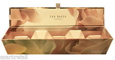 Ted Baker PAMPERED PETALS Gift 5 x Pretty Pearl/Blush Pink Bath Fizzers/BOMBS