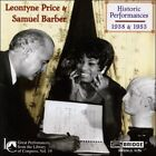 Leontyne Price & Samuel Barber: Historic Performances, 1938 & 1953 (CD, Nov-2004, Bridge)