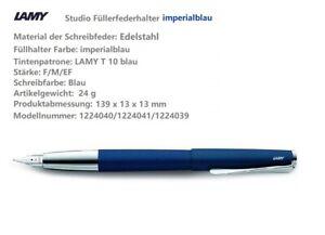 Füllhalter Lamy Studio Füller diverse Modelle Feder wählbar Füllfederhalter