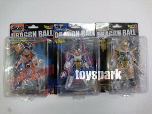 BANDAI Shodo Neo 4 Dragonball Z Kai SON GOKOU Goku + VEGETA +NAPPA action figure