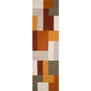 Rugs Geometric Blocks Design Wool India