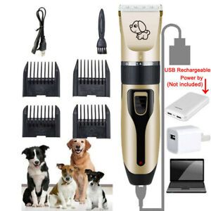 Pet-Shave-Clipper-Hair-Low-Noise-Cordless-Electric-Dog-Cat-Grooming-Trimming-Kit