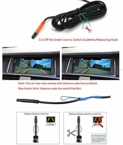 CCD Rear View Reverse Parking Camera for Chrysler 300//300c//srt8//magnum//Sebring