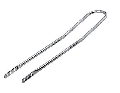 """NEW!LOWRIDER 20/"""" SHORT BACK BICYCLE SISSYBAR CHROME CYCLING For 12//16/"""" Bike"""