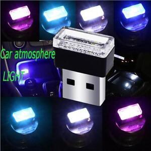 Details About Usb Led Mini Wireless Car Interior Lighting Kit Car Interior Decors Atmosphere