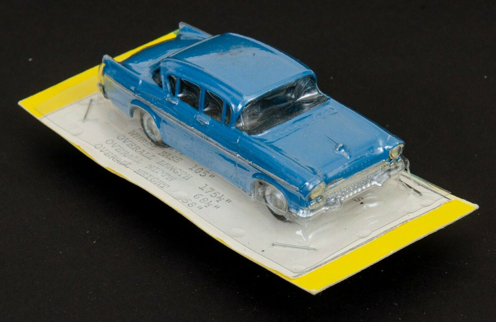 Micro Torro Nueva Zelanda Internacional 1958 P.A. OPEL. blu. década De 1960 cardada.