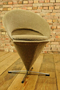 60er-Eistuete-Sessel-Stuhl-Cone-Chair-Verner-Panton-Vintage-Dining-Chair-Nehl