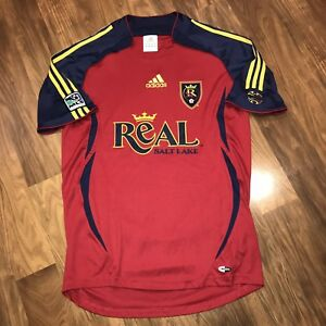 2006 - 2007 Adidas REAL SALT LAKE FC Mens MEDIUM vtg MLS Soccer ... 3ed1311f1
