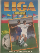 ALBUM DE FUTBOL INCOMPLETO 401 CROMOS LIGA ESTE 88/89 1988/1989