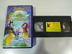 La-Bella-Durmiente-Walt-Disney-1995-VHS-Cinta-Tape-Espanol