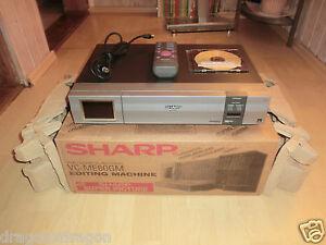 Sharp-VC-ME80GM-VHS-Videorecorder-OVP-absolut-neuwertig-2-Jahre-Garantie