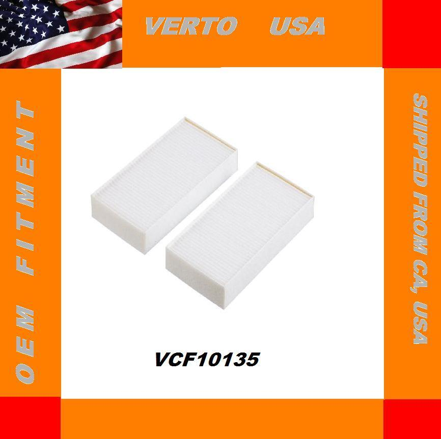 HONDA ACURA CABIN AIR FILTER SET OE# 80292-S5D-A01 Set of 2 VCF10135