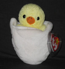 Ty Beanie Baby RARE Eggbert Chick in Egg With Gasport Hang Tag 1998 1999 268868e5edea