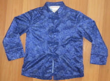 EUC Youth Girl's American Girl XS X- Small Blue Blue Asian Retired Pajama Top