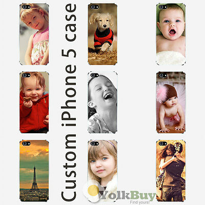 Custom iPhone 5 Case Personalized Photo DIY Picture on Hard Case Cover