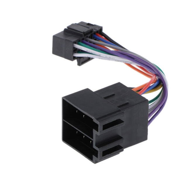 Iso Wiring Harness Connector Adapter For Sony 16 Pin Car