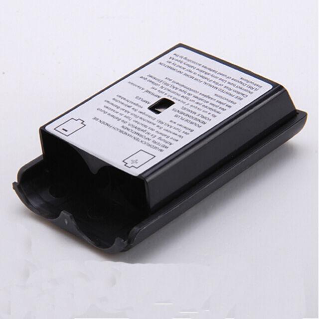 Schwarz AA Akku Batterie Deckel Cover Gehäuse für XBOX 360 WirelessController RX
