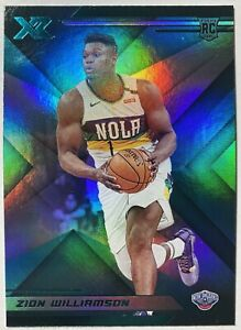 2019-20-Panini-Chronicles-Zion-Williamson-RC-271-XR-Teal-Basketball-NBA-Mint