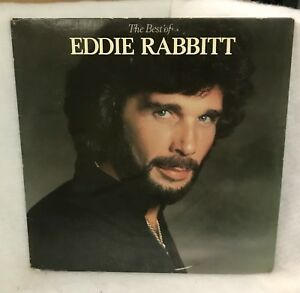 Vintage-The-Best-Of-Eddie-Rabbit-Vinyl-LP