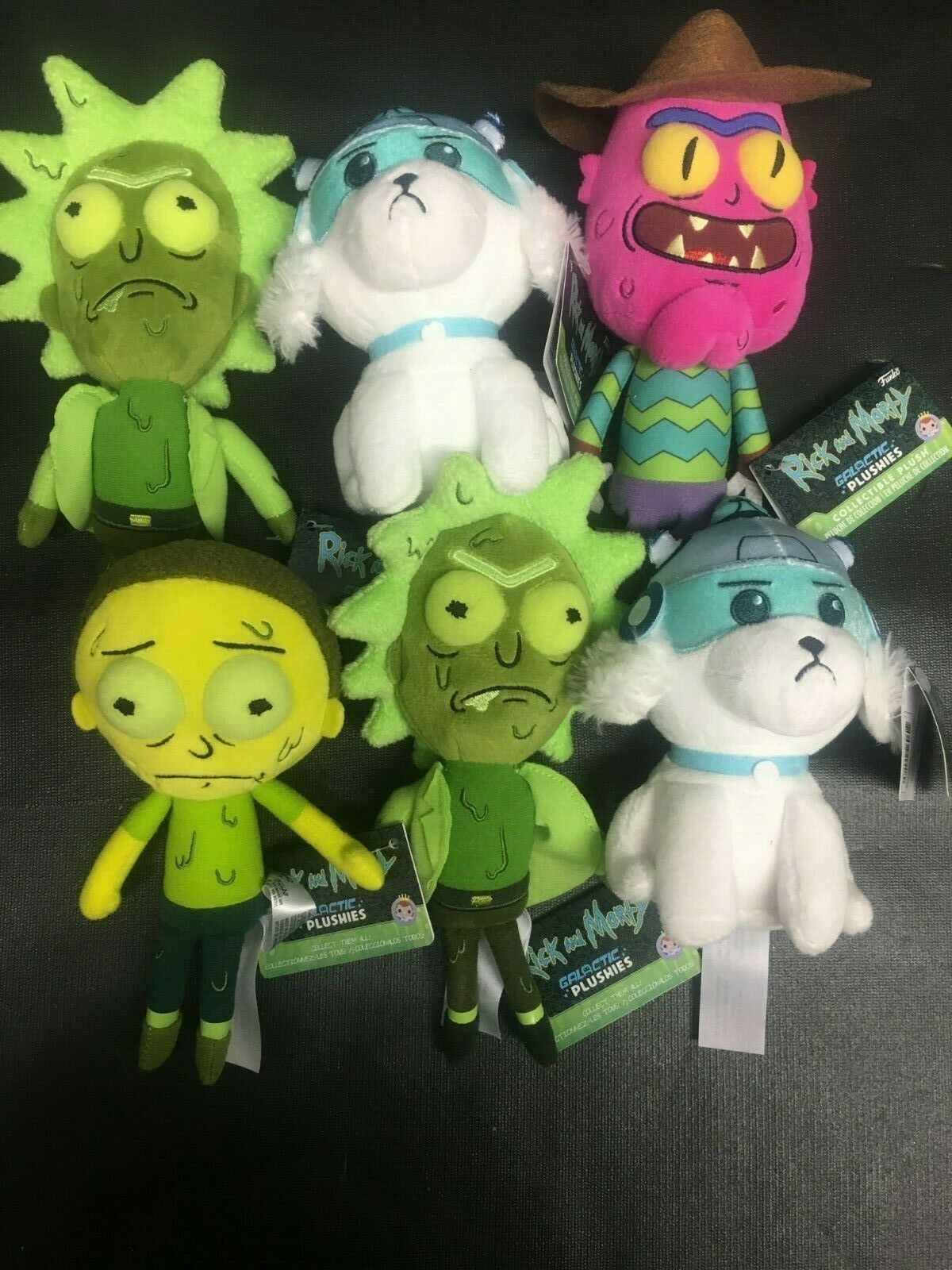 Rick y Morty, Plutón 6, Rick Morty, terror Terry y otros.