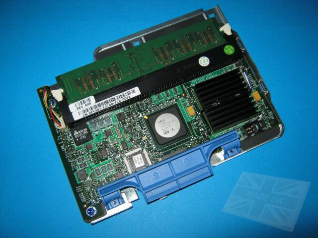 Dell PowerEdge 1950 2950 Perc 5/i SAS RAID Controller 0WX072 256MB & Tray NP007