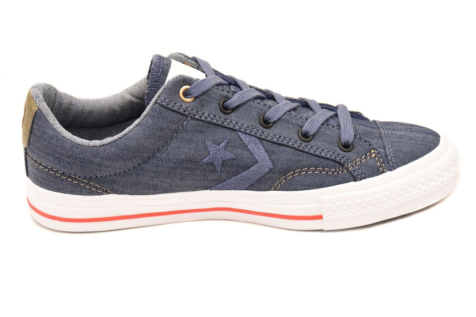 Converse Unisex Star Player 151308C Sneakers Navy Size UK 6 RRP £64 BCF72