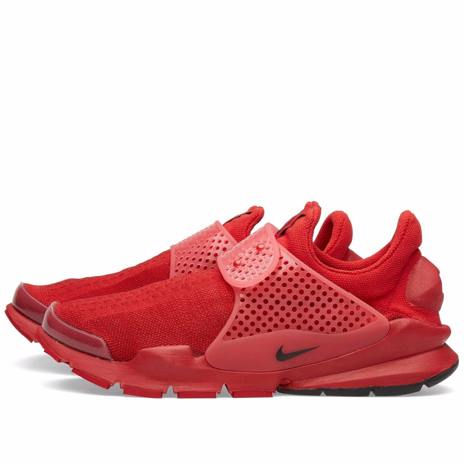 Nike sock dardo giorno dell'indipendenza rosso flyknit frammento design 686058-660 4 luglio