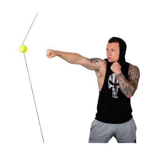 BOXING QUICK PUNCHER Boxing Speed ball MMA Doub... Lamosport Fight Ball Reflex