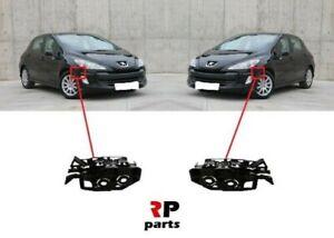 Pour-Peugeot-308-2007-2011-Neuf-Avant-Pare-Choc-Support-Paire-Set-L-amp-R