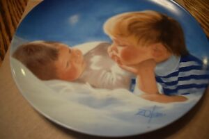 BROTHERLY-LOVE-FIRST-PLATE-DONALD-ZOLAN-SPECIAL-MOMENTS-COLLECTION-1988-89