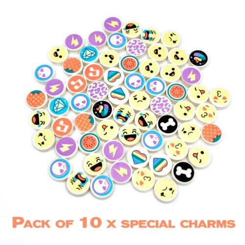 Lego DOTS Extra Dots Pick Your Own Quarter Round 1 x 1 Tiles Charm Bracelets
