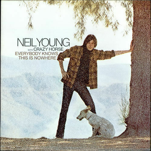 NEIL YOUNG Everybody Knows This Is Nowhere CD NEW Official Release Series