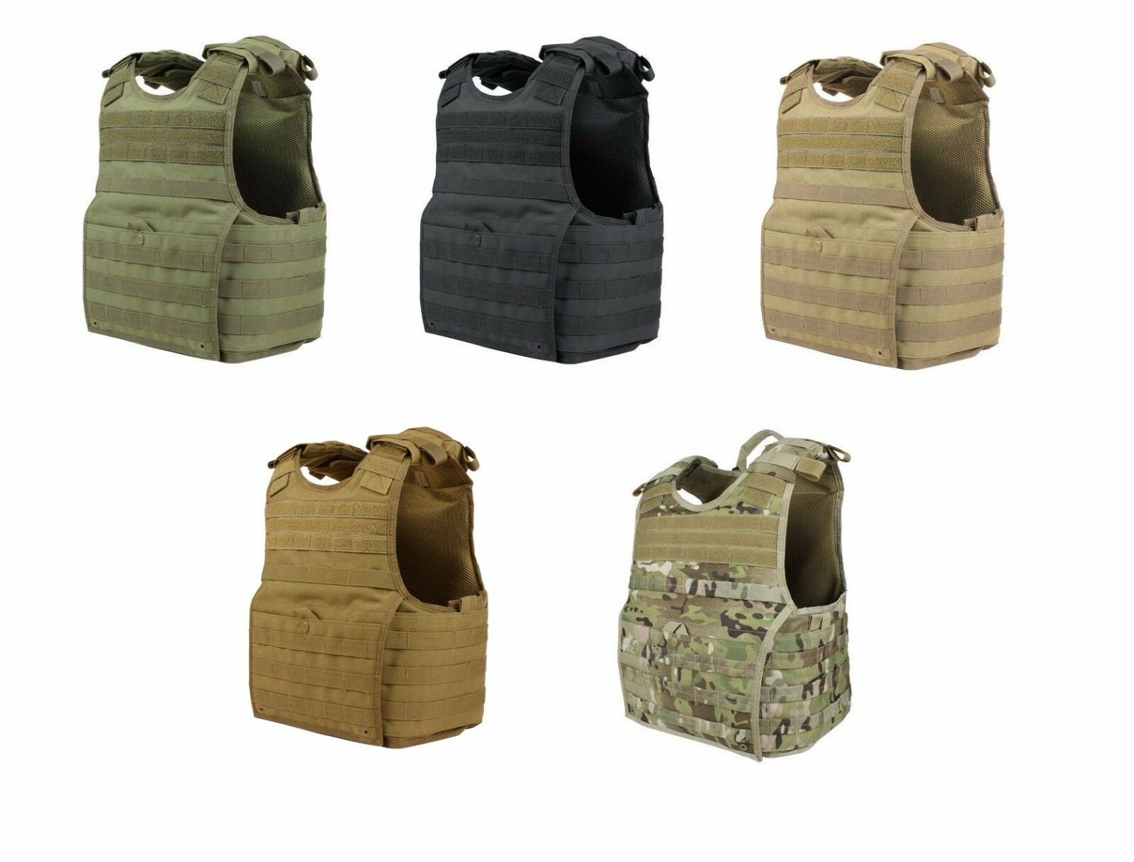 Condor XPC EXO Plate Carrier Tactical Armored Vest 1 Year Warranty