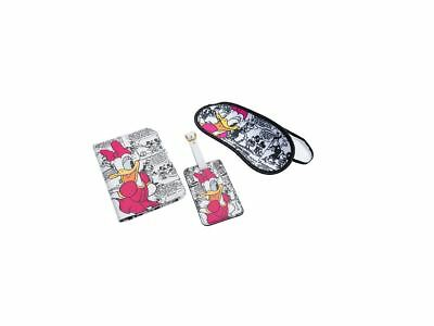 YNC Passport Cover Minnie Mouse Black /& White Dotted Travel ID Holder
