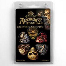 Hot Picks Alchemy Standard Gothic Skull Guitar Picks 1AGSRCS 6 pack