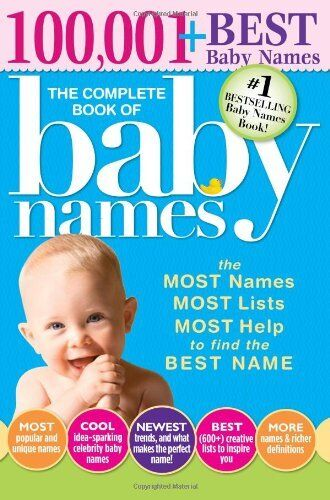 1 of 1 - Complete Book of Baby Names by Lesley Bolton 1402266707 The Cheap Fast Free Post