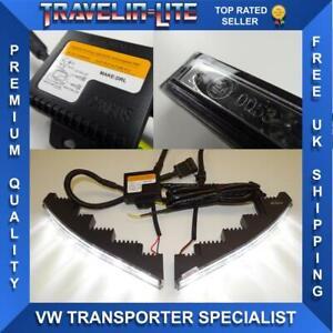 VW-T5-1-Transporter-lamparas-LED-DRL-amp-Modulo-de-gran-calidad-a-estrenar