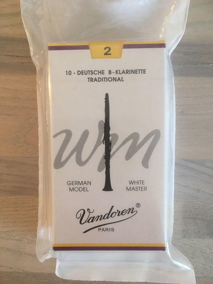 Andet, Vandoren B klarinet german model