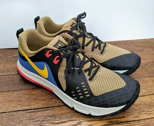 Nike-Air-Zoom-Wildhorse-5-Trail-Running-Shoes-AQ2222-200-Men-039-s-Size-10-5-Outdoor
