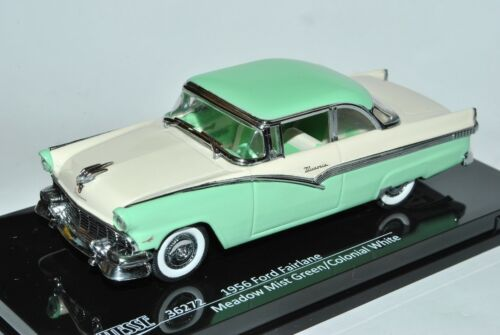 Ford Fairlane Crown Victoria 1956 Coupe Weiss Grün Modell 1954-1961 1//43 Vitesse