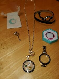 Origami-Owl-Jewelry-Bundle-Necklace-Bracelet-Charms