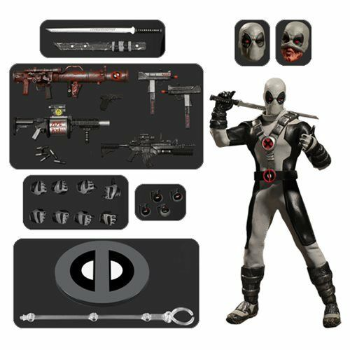 Mezco One 12 Collective NEW  Previews Exclusive X-Force Deadpool Action Figure