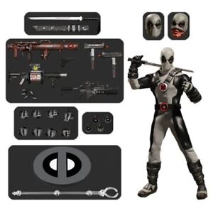 Mezco-One-12-Collective-NEW-Previews-Exclusive-X-Force-Deadpool-Action-Figure