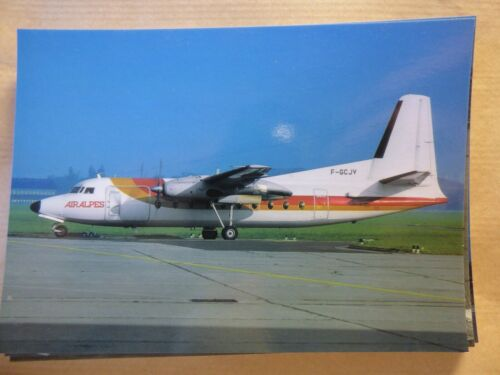 AIR ALPES  FOKKER 27 F-GCJV collection vilain N° 470
